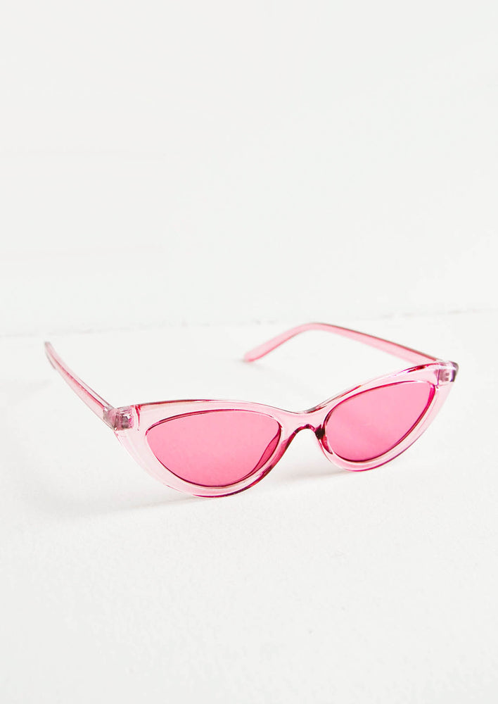 2: Peony Cat Eye Sunglasses in  - LEIF