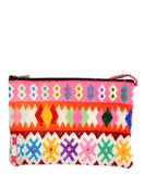 Peruvian Neon Embroidered Clutch - LEIF