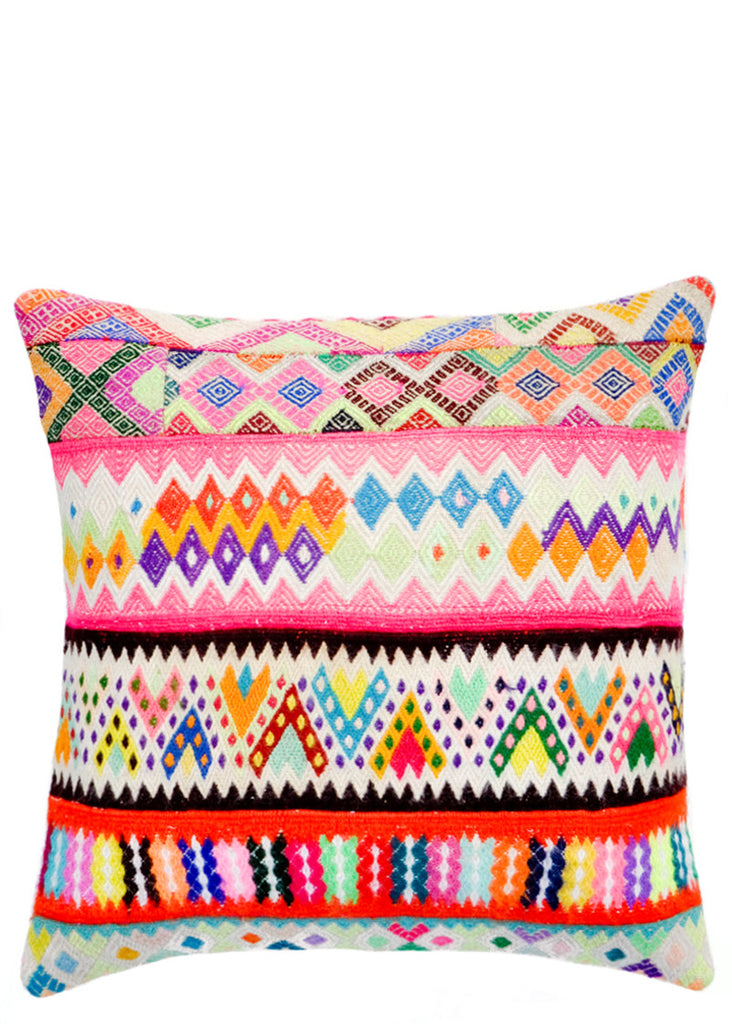 Neon Peruvian Pillow, 16""