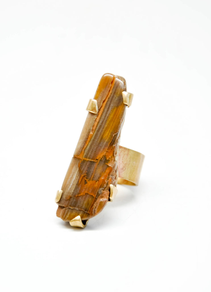 Petrified Sequoia Ring - LEIF