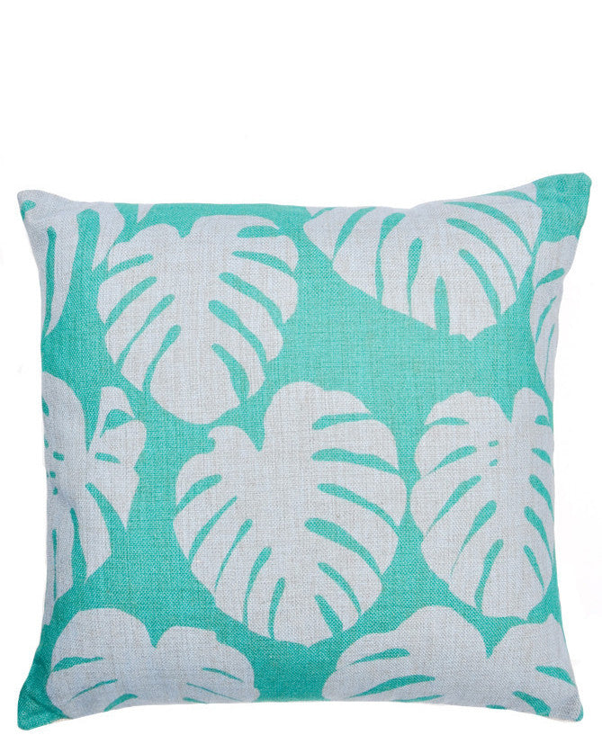 Philodendron Leaf Pillow - LEIF