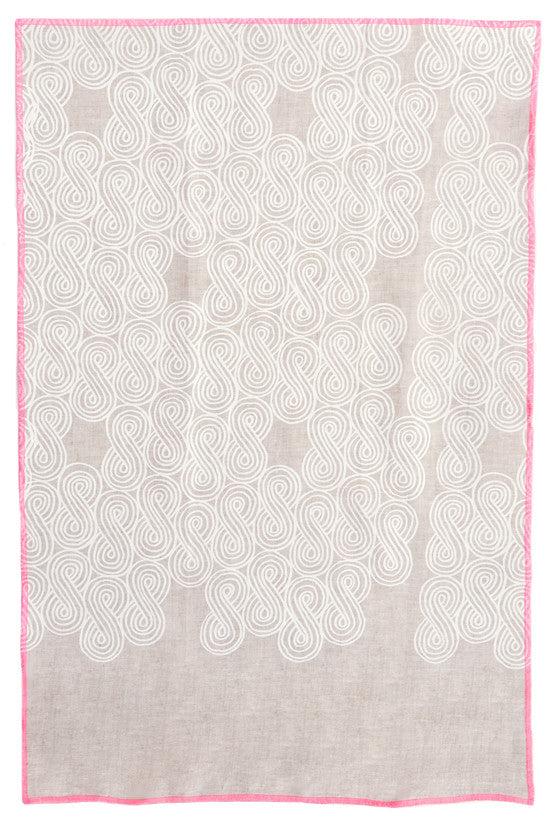 Cloud Swirl Tea Towel - LEIF