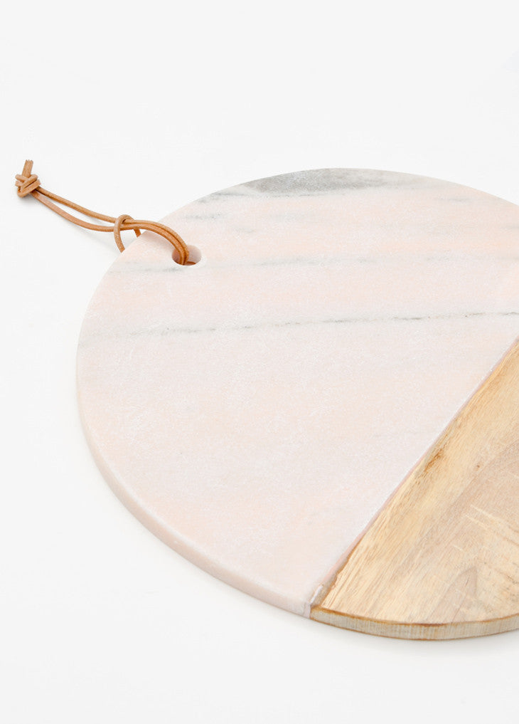 4: Pink Marble Serving Board - LEIF