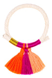 Thread & Tassel Bracelet