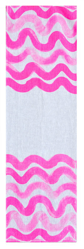 Pink Wave Table Runner - LEIF
