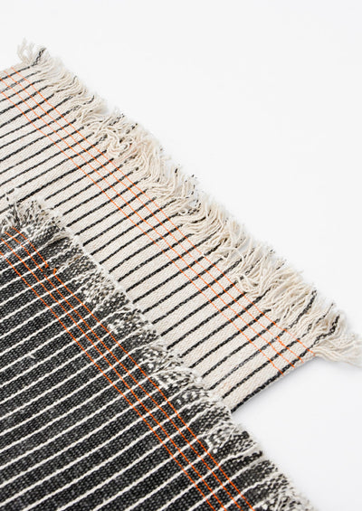 Pinstripe Jute Table Runner - LEIF