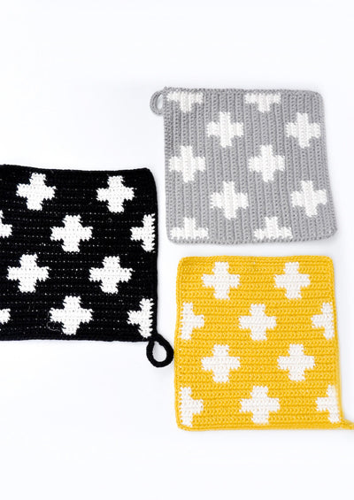 Plus Knit Potholder