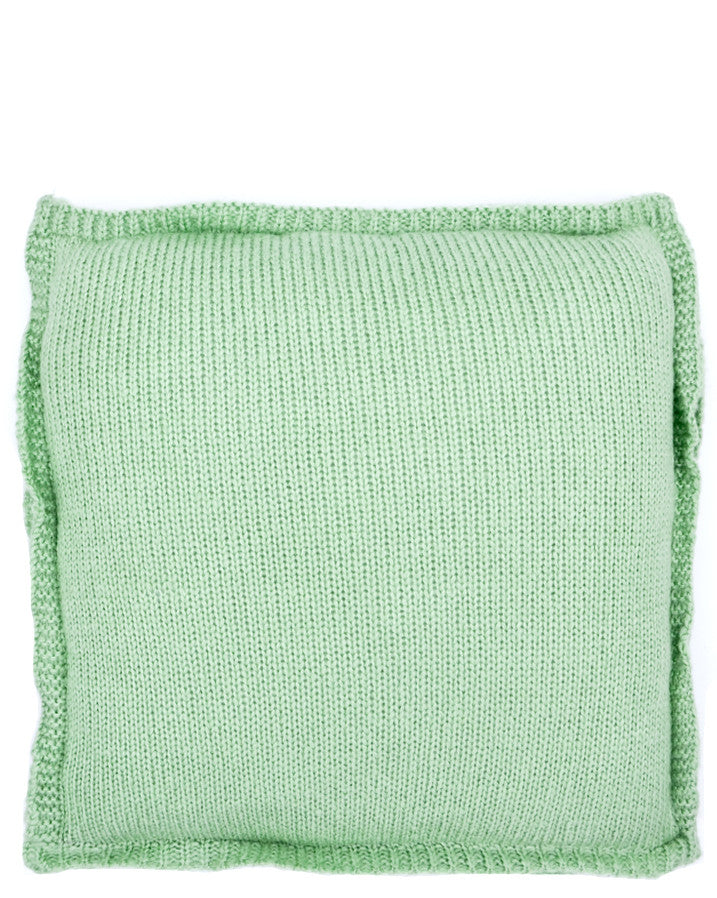 Pastel Plush Knit Pillow - LEIF