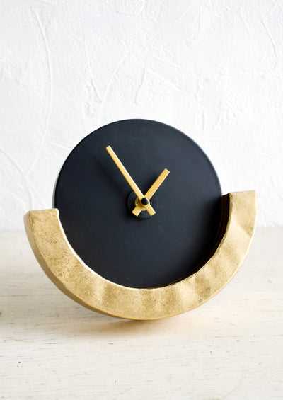 Poseidon Table Clock
