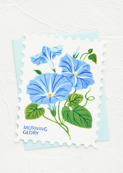 Diecut Floral Stamp Card hover