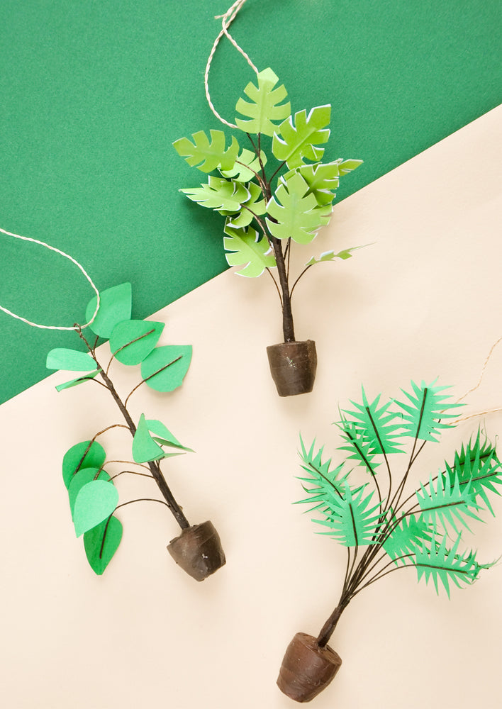 House Plant Ornament