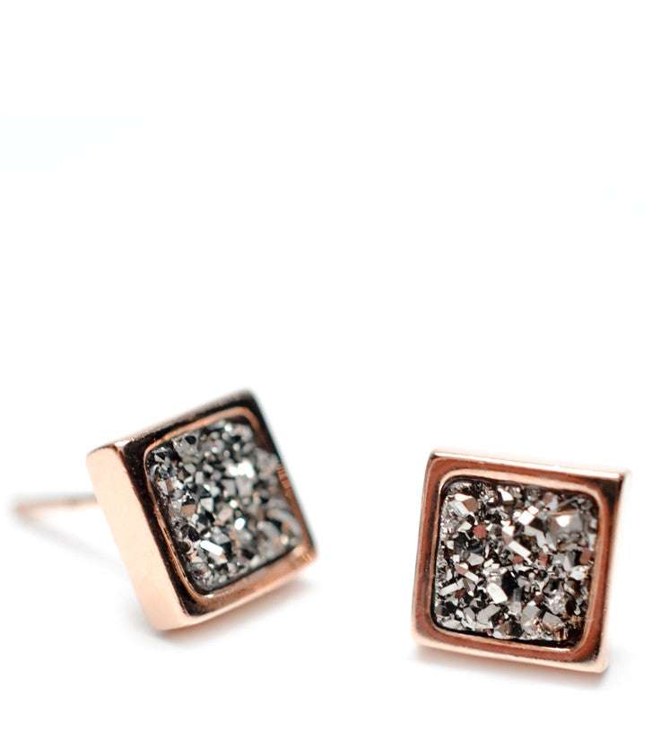 Precious Metal Stud Earrings - LEIF