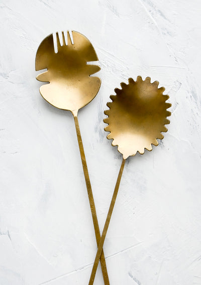 Primordial Brass Serving Set