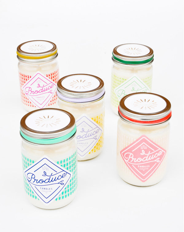Produce Soy Candle - LEIF