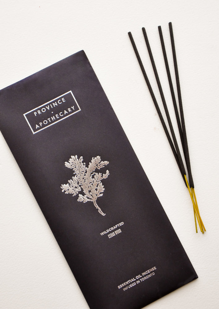 Cedarwood: Wildcrafted Incense Sticks in Cedarwood - LEIF