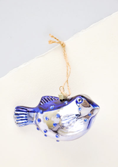 Puffer Fish Ornament