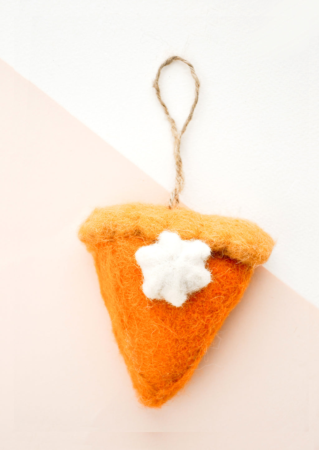 Pumpkin Pie Slice Ornament