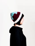 Puzzled Colorblock Beanie