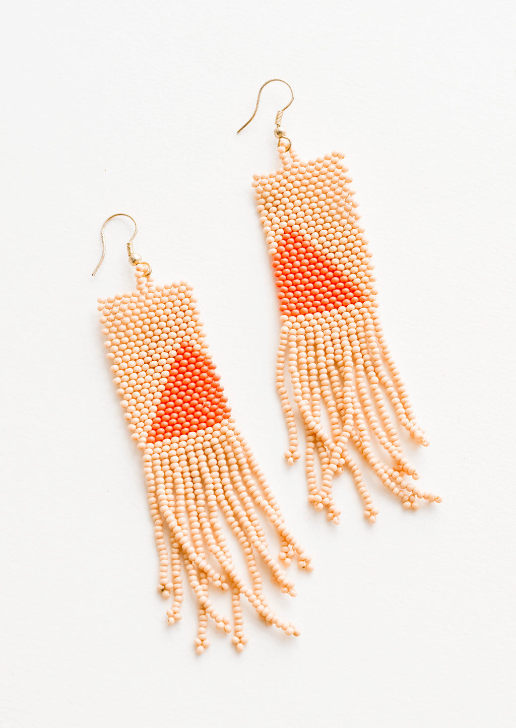 Pyramide Beaded Earrings in  - LEIF