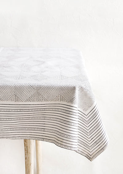 Pyramides Cotton Tablecloth hover