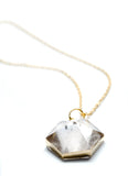 Quartz Prism Necklace - LEIF