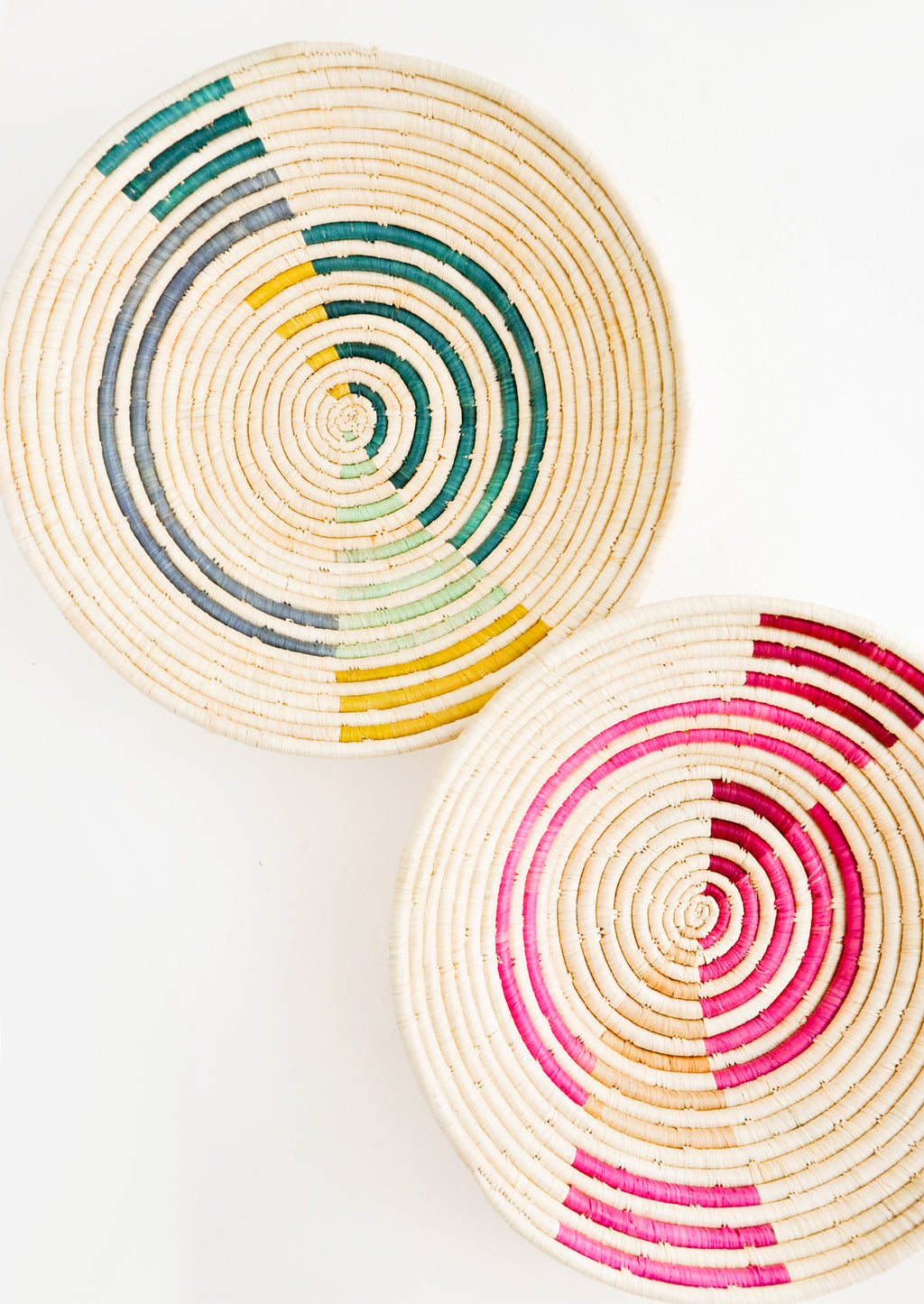 2: Radiant Rays Raffia Basket in  - LEIF