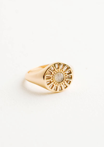 Radiate Signet Ring