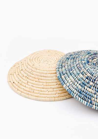 Raffia Fruit Basket in  - LEIF