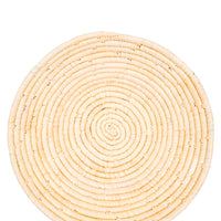 Natural: Raffia Fruit Basket in Natural - LEIF
