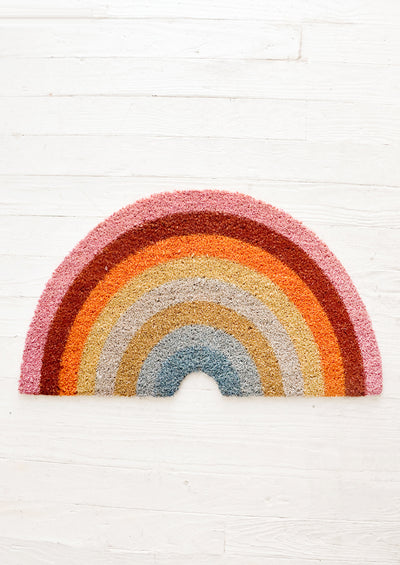Colored Rainbow Doormat