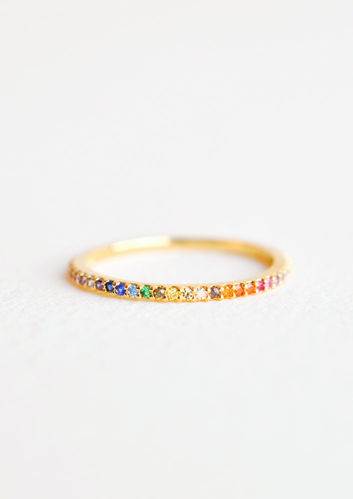 Rainbow Gradient Ring