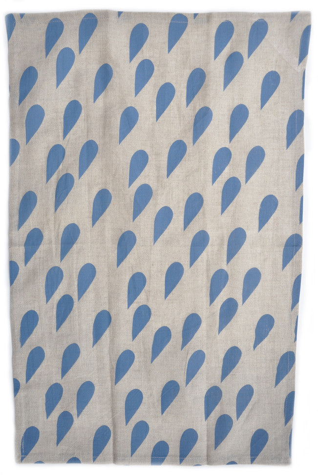 Raindrops Tea Towel - LEIF