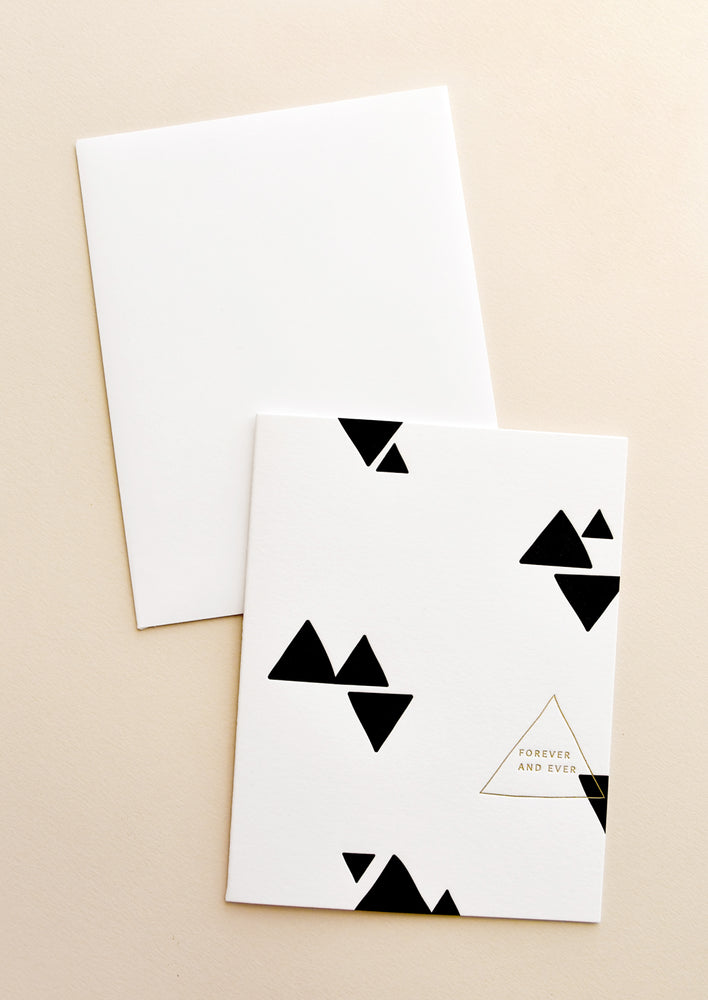 Forever & Ever Triangles Card