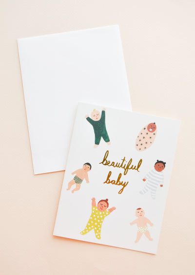 Bundled Babies Card