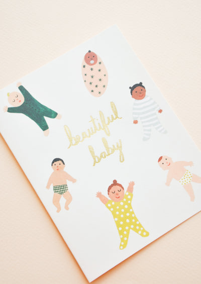 Bundled Babies Card hover