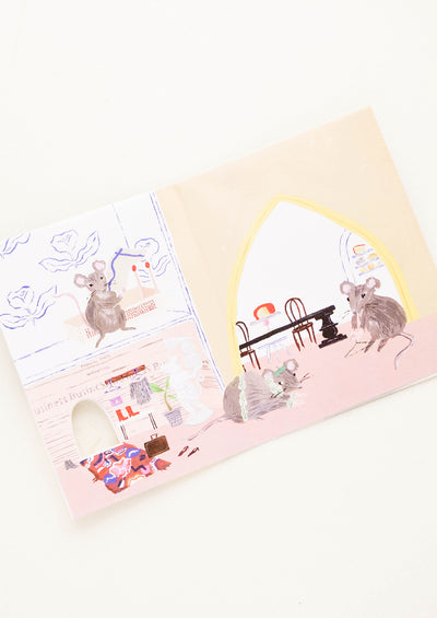 Mouse House Thank You Card hover