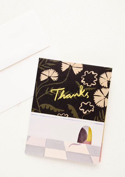 Mouse House Thank You Card
