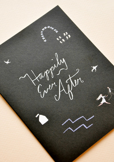 Runaways Wedding Card hover