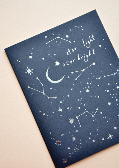 Star Light Star Bright Card hover