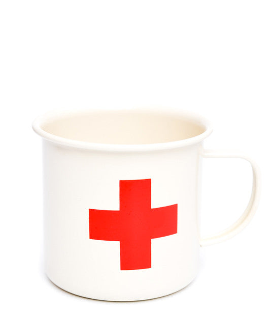 Red Cross Enamel Mug - LEIF