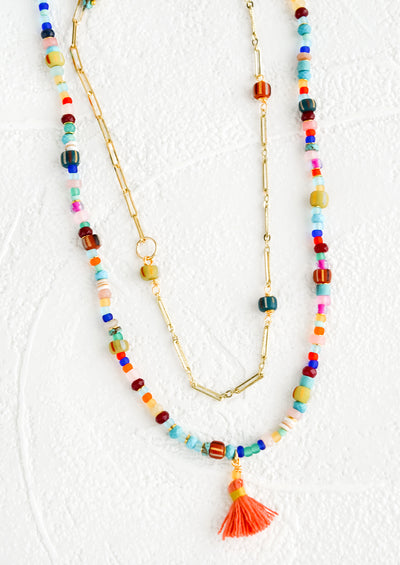 Rhodesia Beaded Necklace