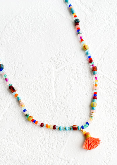 Rhodesia Beaded Necklace hover