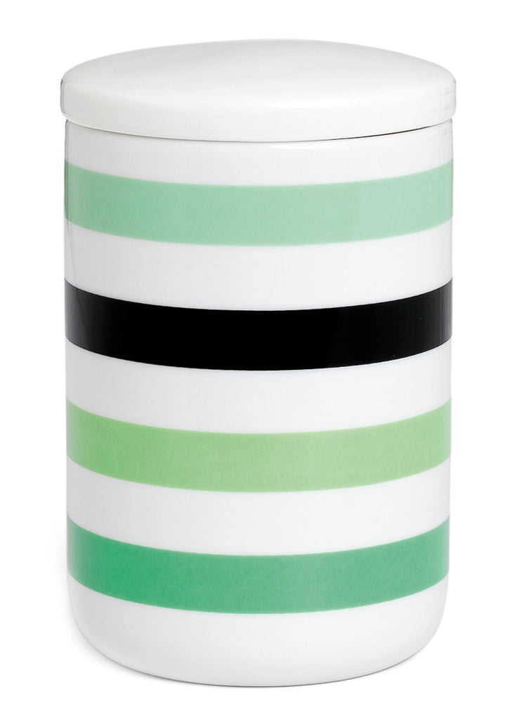 Ribbon Stripe Storage Jar - LEIF