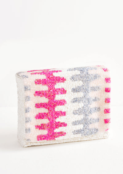 Ric Rac Beaded Box Clutch