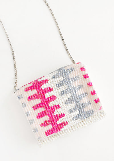 Ric Rac Beaded Box Clutch hover