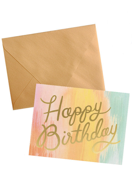 Sorbet Birthday Card Set - LEIF