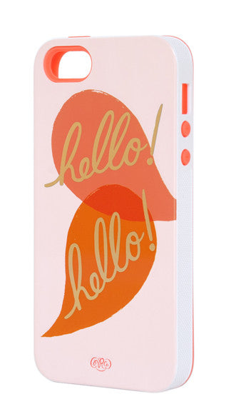 Hello Hello iPhone 5/5s Case - LEIF