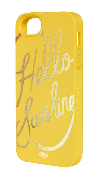Hello Sunshine iPhone 5/5s Case - LEIF