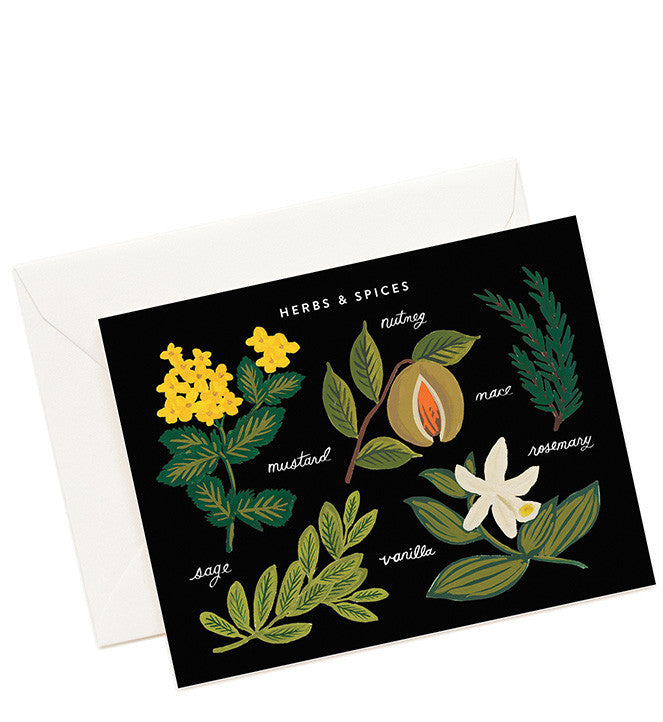 Herbs & Spices Card Set - LEIF