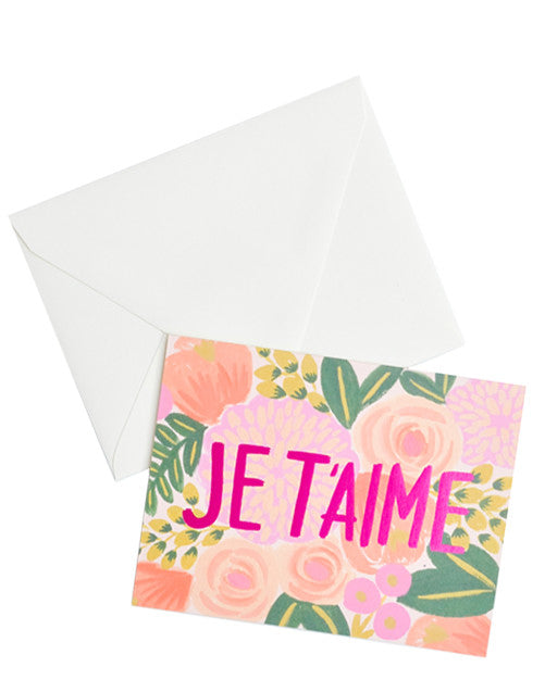 Je T'aime Card Set - LEIF
